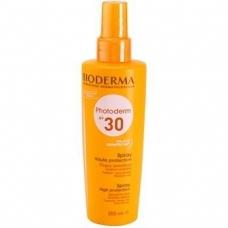 Bioderma Photoderm SPF 30 Sun Spray Sensitive Skin - спрей для загара 200 мл