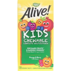 Nature´s Way, Alive Витамины для детей  120шт