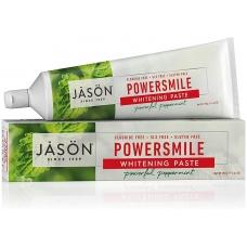 Отбеливающая зубная паста, перечная мята 170 г Jason Natural, PowerSmile