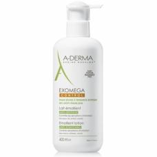 А-Дерма Экзомега Молочко для сухой, атопической кожи - Exomega Control Emollient Milk 400 мл