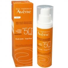 Солнцезащитный тональный флюид Avene unifying Tinted Fluid SPF 50+