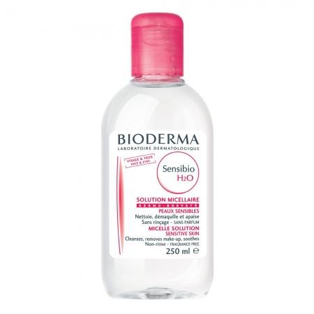 Мицеллярный лосьон Bioderma Sensibio H2O Micellaire Solution 250 мл