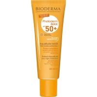 Bioderma Photoderm Max Aquafluide SPF 50 Ultra-Fluide Teinte - солнцезащитный флюид с тоном