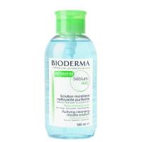Мицеллярный лосьон Bioderma Sebium H2O Micellaire Solution 500 мл с помпой