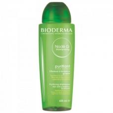 Bioderma Nodé G Purifying Shampoo - Шампунь очищающий для жирный волос 400мл