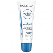 Питательный увлажняющий бальзам для лица Bioderma Atoderm Nutritive Nourishing Cream атодерм