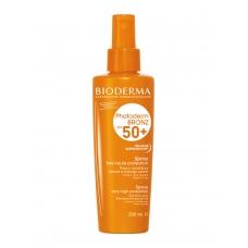 Bioderma Photoderm Bronz SPF50+  Солнцезащитный спрей для чувствительной кожи