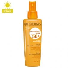 Солнцезащитный спрей Bioderma Photoderm Max Spray SPF 50+ 200 мл