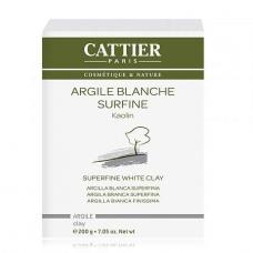 Белая глина микронизированная Cattier Argile Blanche Surfine 200g