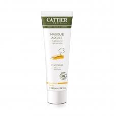 Маска с желтой глиной для сухой кожи Cattier Masque argile peaux seches 100мл