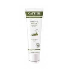 Маска с зеленой глиной для жирной кожи Cattier Masque argile peaux grasses