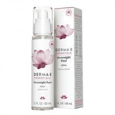 Derma E, Ночной пилинг, отшелушивающее средство для лица, 2 жидкие унции (60 мл)
