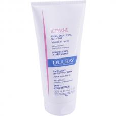 Крем питательный для сухой кожи Ducray Ictyane Creme emolliente nutritive