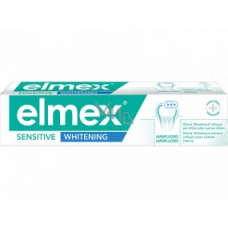 Зубная паста отбеливающая для чувствительных зубов Elmex Sensitive Whitening Toothpaste 75  мл