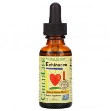 ChildLife, Essentials, эхинацея, натуральный апельсиновый вкус, 30 мл