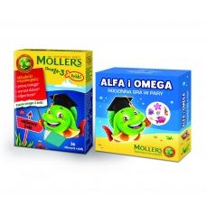 Mollers Omega-3 рыбки + игра, со вкусом малины, 36 шт