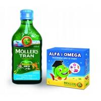 Mollers tran omega-3 + игра, норвежский рыбий жир от 3 лет и взрослых, фруктовый, 250 мл