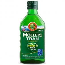 Mollers Tran Omega 3- Рыбий жир  250 мл
