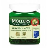 Пищевая добавка - Moller`s Brain Complex 60 шт