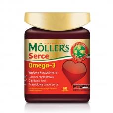 Mollers - Витамины для сердца с Омега-3  Omega-3