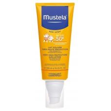 Солнцезащитный лосьон для лица и тела Mustela Bebe Enfant Very High Protection Sun Lotion SPF 50+ ( 200 мл )