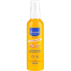 Солнцезащитное молочко для тела SPF 50+ Mustela Spray Solaire Haute Protection 200 ml