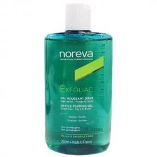 Гель мягкий очищающий для лица Noreva Exfoliac cleansing gel 250мл