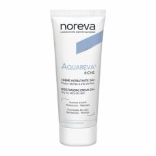 Noreva Aquareva Creme Hydratante Riche Увлажняющий крем 24 ч для сухой и очень сухой кожи