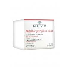 Очищающая крем-маска с лепестками роз для лица и декольте Nuxe Clarifying Cream-Mask With Rose Petals