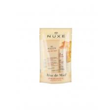 Nuxe Dream of Honey Discovery Крем для рук и ногтей 30 мл + Увлажняющая губная помада 4 г
