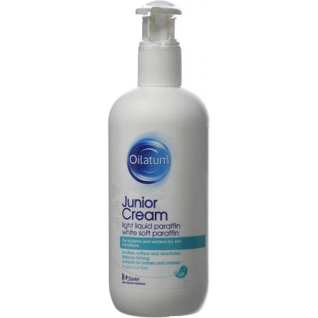 Детский крем Oilatum Junior cream Ойлатум для сухой и чувствительной кожи, склонной к атопии 350мл
