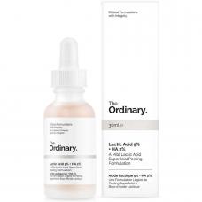 Сыворотка-пилинг с молочной кислотой The Ordinary Lactic Acid 5% + HA 2% , 30 мл