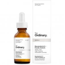 Антиоксидантная сыворотка с ресвератролом 3% и феруловой кислотой 3% The Ordinary Resveratrol Serum 3% + Ferulic Acid 3%