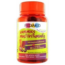 PEDIAKID жевательные мультивитамины 60шт