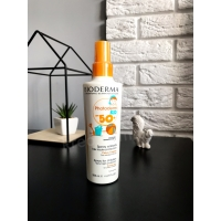 Детский солнцезащитный спрей для тела - Bioderma Photoderm Kid spf 50 sun body spray