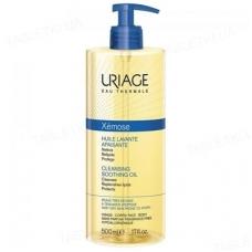 Успокаивающее очищающее масло URIAGE Xemose Cleansing Soothing Oil 500 мл