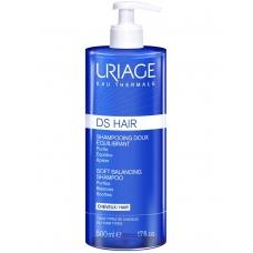 Uriage DS Hair Soft Balancing Shampoo  шампунь для волос  для чувствительной кожи головы 500 мл