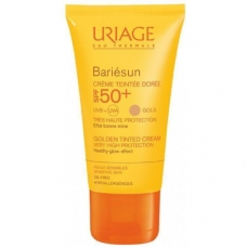 Uriage Suncare product Барьесан солнцезащитный тональный крем SPF50+