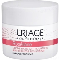 Крем для лица Uriage Roseliane Creme Riche Anti-Rougeurs против покраснений для сухой кожи, 50 мл