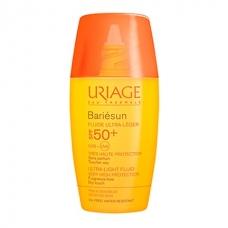 Эмульсия ультралегкая SPF50+ Uriage Bariésun Fluide Ultra-Léger SPF50+