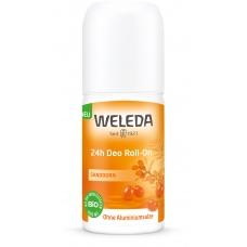 Натуральный дезодорант WELEDA Облепиха Roll-On 24 часа