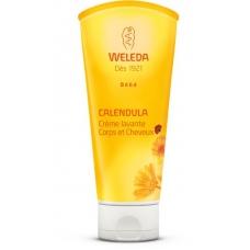 Детский шампунь-гель для волос и тела Weleda Baby Calendula Shampoo & Body Wash 200мл